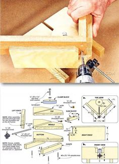 DIY Angle Clamp - Furniture Assembly Tips and Techniques | WoodArchivist.com #woodworkingtools
