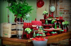 Festa de aniversário tema melancia – Macetes de Mãe