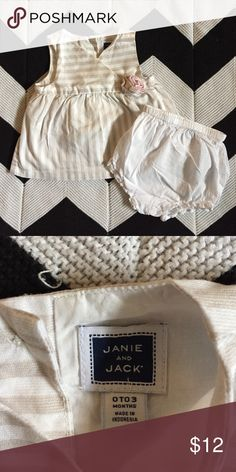 Janie and Jack Dress EUC. Worn once. Janie and Jack Dresses Casual