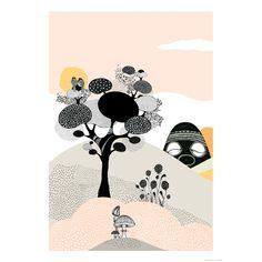 Talking Tree juliste, 29,7x42 ryhmässä Julisteet / Julisteet @ ROOM21.fi (116387)