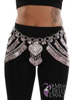 Belly Dance Tribal Circular Coin Belt  | Mandani