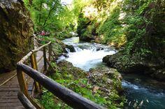 Por que viajar para a Eslovênia - Trilha de Vintgar Gorge