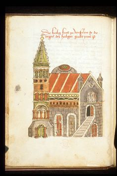 Church=Account of a journey from Venice to Palestine, Mount Sinai and Egypt Origin	Germany, S. (Passau?) Date	c. 1467 Language	German