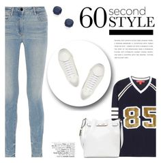 """""""60-Second Style: Game Day"""" by katsin90 ❤ liked on Polyvore featuring Tommy Hilfiger, Alexander Wang, Kate Spade, Smythson, Yves Saint Laurent and Avenue"""
