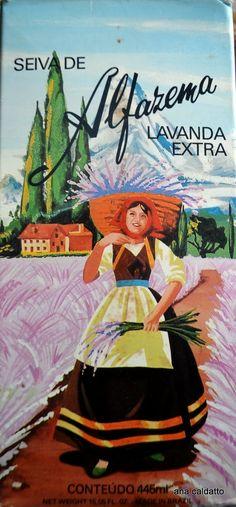 Seiva de Alfazema - Ana Caldatto : propagandas antigas
