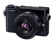 Panasonic LUMIX DMC-GM5 DSLM Mirrorless Camera with Eye Viewfinder, 12-32mm Lens Kit (Black) - International Version (No Warranty)