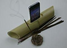 iBamboo speaker: the Zen of iPhone docks