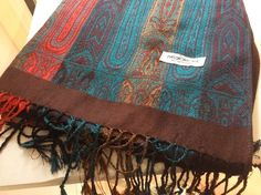 SCARF BY Pashmina Multicolour Brand New Without Tag Ladies 100% Pashmina Wrap