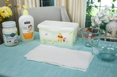 Save money on #babywipes with a DIY Natural Baby Wipes by Kristin Smith! Don't miss Home & Family weekdays at 10a/9c on Hallmark Channel!