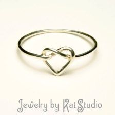Infinity Knot in Rings - Etsy Jewelry - Page 2
