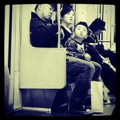 kids, trains and japan