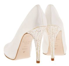 4cf9ec656e15 40 Best Mother of Pearl Heels - Luxury Bridal Shoes images