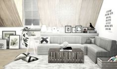 // Scandinavian living room by viikiita.rar