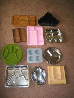Trays for sorting