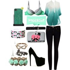 Outfit with accessories from rue21