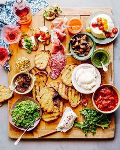 Food and drink station ideas for your next get together.