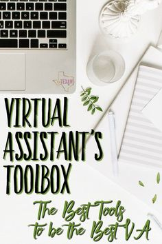 Virtual Assistant's Toolbox-- The Best Tools for a Virtual Assistant or Social Media Manager to do their job quickly, efficiently, and well! Virtual Assistant tools are imperative for anyone who is trying to help their client with their reach or productiv