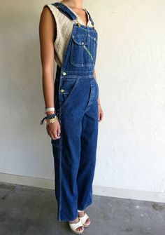 Vintage Key Imperial Bib Carpenter Overalls. Lived in these things in the 70's