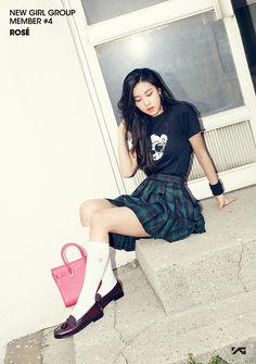YG Entertainment reveals member of its new girl group 2ne1, Forever Young, New Girl, Kpop Girl Groups, Kpop Girls, K Pop, Debut Photoshoot, Jenny Kim, Blackpink Debut