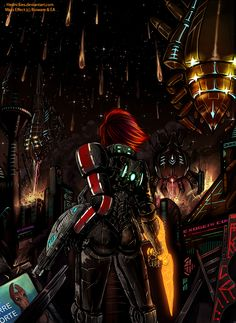 ME3 - Shepard told us they were coming... by Hedrick-CS.deviantart.com on @deviantART