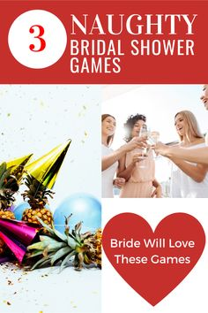 Pour the drinks and get ready for an epic bridal shower night. 3 dirty games for an incredible time. Includes : Drink If, Scavenger Hunt and How Well Do You Know the Bride Game - All X Rated, All Fun! 50th Birthday Party Games, Anniversary Party Games, Bachelorette Drinking Games, Kids Party Themes, Ideas Party, Cocktail Party Decor, Christmas Tea Party, Bridal Shower Games, Hilarious