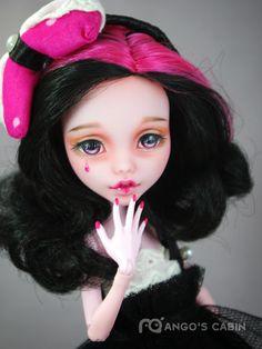 "Monster High Repaint Custom OOAK ""Donna"" by Mango's Cabin 4 Adult Mattel   eBay"