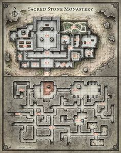 Princes of the Apocalypse; Sacred Stone Monastery (Digital DM & Player Versions)