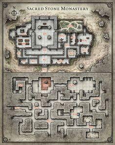 Princes of the Apocalypse; Sacred Stone Monastery (Digital DM & Player Versions)