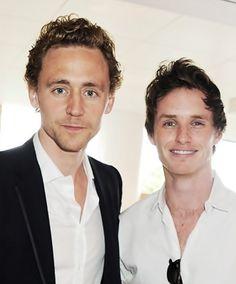 Tom Hiddleston. Eddie Redmayne. The best two humans.