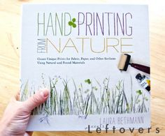 I was so excited when the package containing Hand Printing from Nature! Click over to the blog to read the full review and enter the giveaway (now thru 6/14/12)!