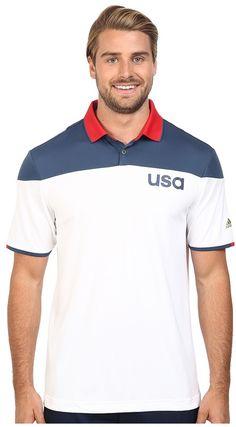 a60ecaf4272 adidas Golf CLIMACOOL® USA Sport Block Polo