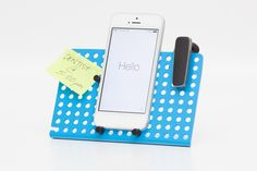 Say Hello to Peg. Peg is a multipurpose hub for some of the smaller things in your life. Peg is a dock for your phone, a display for your jewelry, a desktop organizer, a holder of accessories and much more. Warehouse Design, Desktop Organization, Organization Ideas, Phone Stand, Ipad Stand, Stand Design, Desk Accessories, Jewellery Display, Stores