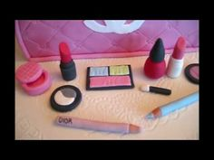 Chanel Make-Up Case Cake