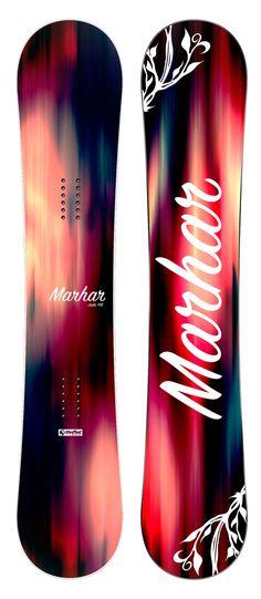 Gorgeous Marhar snowboard