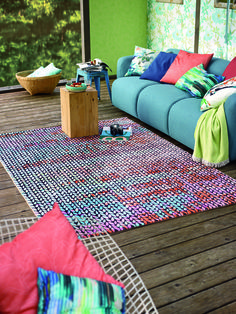 Webteppich Dizzy, Lakeside, Esprit home Esprit Home, Picnic Blanket, Outdoor Blanket, Home Collections, Modern, Sweet Home, Creations, Colours, Make It Yourself