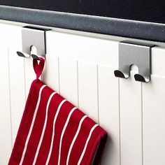 Over-Drawer Hooks in dish racks drainers and tea towels at the home of creative kitchenware, Lakeland