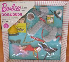 This is so AMAZING, I'm pinning it again!!!  Vintage Barbie Dogs n Duds Mint in Box MIB NRFB NRFP Complete in Dolls & Bears | eBay