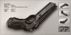 I'v had busy summer this year so it was long time since I uploaded here on deviantart. But this week I've finished another concept of mine. Here it is. Concept of sci-fi energy rifle. Model is full...