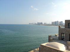 I was in Jaffa looking towards Tel Aviv...Mediterranean Sea. 2010...