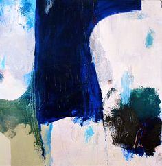 "Heather Chontos Contemporary Painting ""Lost at Sea"" 