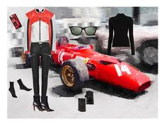 """Racer"" by peaceful-young ❤ liked on Polyvore featuring Vetements, Ray-Ban, Casetify, Portolano, Misha Nonoo and Hue"