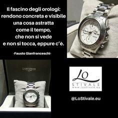 """""""Il fascino degli #orologi: rendono concreta e visibile una cosa astratta come il #tempo, che non si vede e non si tocca, eppure c'è."""" -Fausto Gianfranceschi  Per Info: ✉ info@lostivale.eu https://lostivale.eu/ #LoStivale #Style #Collana #Bracciale #Anello #Gioielli #Fashion #Articoli da #Regalo #Oro #Argento #Luxury #Montblanc #Pen #Bracelet #Necklace #Ring #Jewels #Bijoux #Jewelry #Diamanti #Regali #Gift #Gifts #Orologio #Watch #Watches #Time"""
