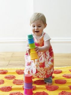 """Brain-Boosting Games for Babies  """"Fun infant activities that help your baby's brain blossom! Plus, more infant games that teach!"""" via Parenting Magazine"""