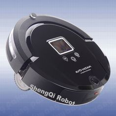 PAKWNG Robot Vacuum Cleaner A320 LCD Touch Screen Auto Recharge Robot Vacuum for Home