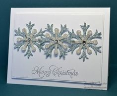SUOC60 - Glimmer Snow by jentimko - Cards and Paper Crafts at Splitcoaststampers