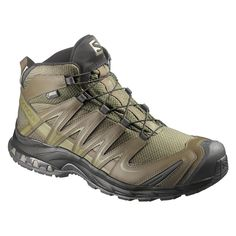 Tactical Footwear 177897: Salomon Xa Pro 3D Mid Gtx® Forces 2 Gore-Tex Boot Iguana Green -> BUY IT NOW ONLY: $175 on eBay!