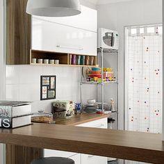 Revista MinhaCASA - Apê de 57 m² com decoração retrô e mix de estilos