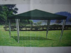 4m x 4m portable gazebo with poles and fittings ...227338151