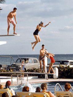 Spring Break. Florida. The 50's.