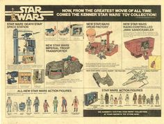 """""""From the greatest movie of all time..."""" Star Wars toy ad (1980)"""